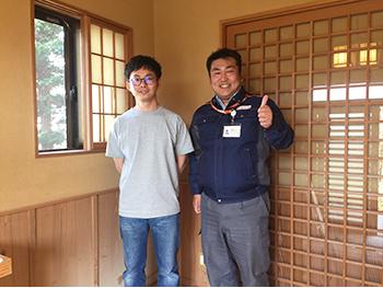 遠藤さんとは良きパートナーです!!