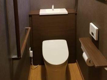 イメージ通りのトイレになりとても嬉しいです。