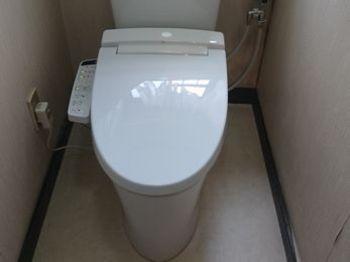 新しいトイレになってとても快適になりました。